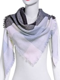 white, gray, and black scarf Morgan Hill, 95037