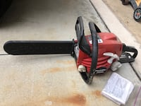 red and black Homelite chainsaw Aliso Viejo, 92656