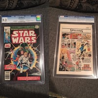 Star Wars #1, 9.2 CGC graded Fairfax, 22031