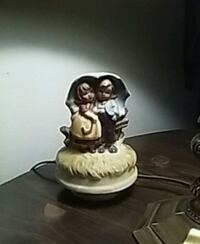 "M J Hummel "" Stormy Weather"" ceramic figurine Oak Creek, 53154"