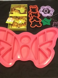 Cookie Cutters and Butterfly Cupcake Mold Nipomo, 93444