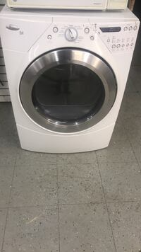 white front-load clothes washer Detroit, 48227