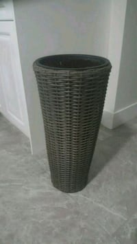 rattan wicker planter New Westminster, V3M 5J1