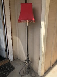 black and red floor lamp Norco, 92860