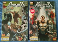 Lotto The Punisher 7 volumi + Onslaught Rinascita Poggiomarino, 80040