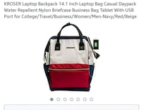 white and red pet carrier Burnaby, V5H 2K2
