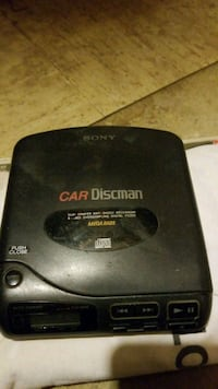 Sony car disc man