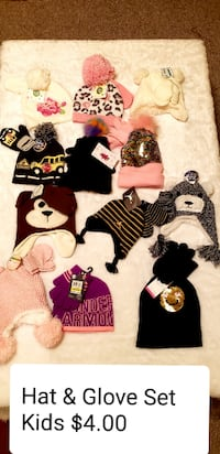 assorted color of knit caps Normal