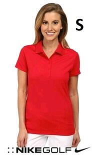 NEW WOMENS NIKE GOLF DRIFIT POLO (RED) SIZE SMALL  Mississauga, L5B 4M6