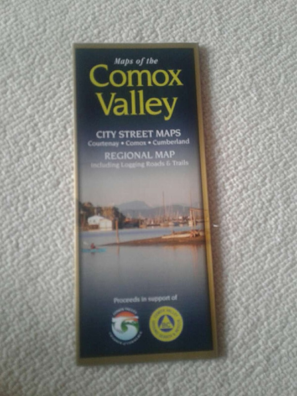 Used Comox Valley City Streep Maps for sale in Courtenay - letgo on