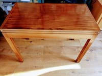 Rosewood fold down card table LONDON