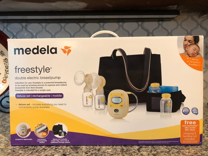 Used Brand New Medela Freestyle Breast Pump For Sale In Mill Creek Letgo