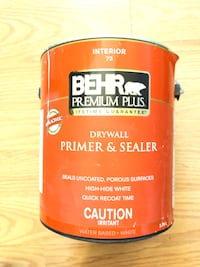 Behr Primer Sealer Paint. (Close to full can) Edmonton, T5B 2E8