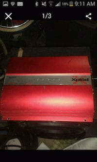 red and gray metal tool chest Anaheim, 92801