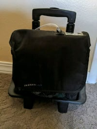 Oxygen concentrator portable