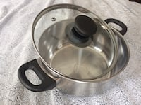 Stainless steel cooking pot with lid Jersey City, 07302