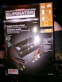 NIB Motomaster Eliminator Mobile Power Outlet 400w