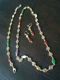 Colourful Jewelry set Vaughan, L6A 3P3