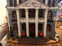 Lemax Funeral Parlor Spooky Town Halloween Bethesda, 20817