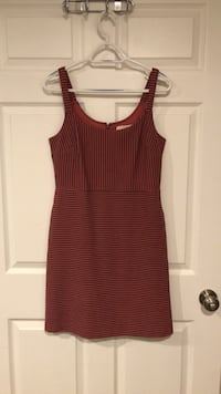 women's red and black sleeveless dress Silver Spring, 20904