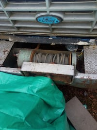"Heavy Duty PTO Winch And Bumper. ""Comes With Truck"". Terrace"