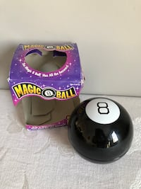 Magic 8 Ball party game by Mattel  North Reading, 01864