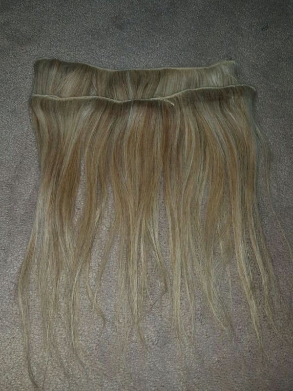 two blonde hair extensions 1abdbacd-2c05-44ce-bbc8-275c2d4760a5