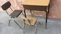 two brown wooden folding tables San Diego, 92105