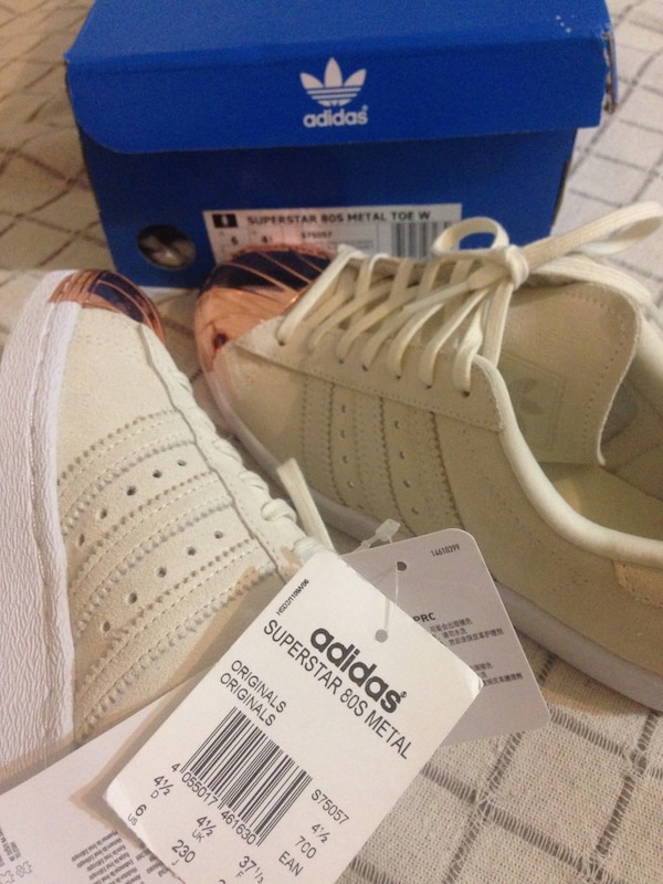 finest selection 6ad8b 266d8 Rose gold adidas superstar 80s metal toe