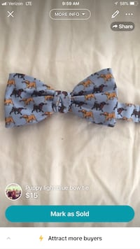 blue, brown, and yellow puppy bow tie screenshot Columbia, 29201