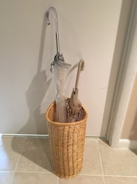 brown and white wicker basket Rockville, 20854