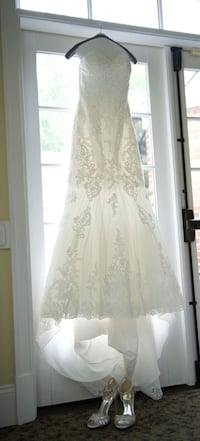 "Beaded Essense of Australia Wedding ""Evelyn"" Trumpet Dress WASHINGTON"