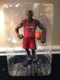 NBA Dwyane Wade Vinyl Collectable Limited edition