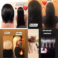 Hair Extension Specialist big promotion now Montreal