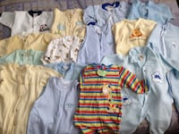 15 baby onesies in excellent condition open for reasonable offers