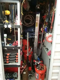 rental storage.tool/fisher plow/plumbing tools Belleville, 07109