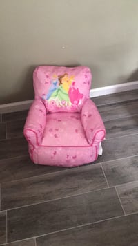 pink and white floral sofa chair Point Pleasant, 08742