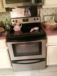 black and gray induction range oven Gaithersburg, 20878