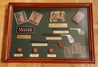Golf Shadow box for the collectors Whitby