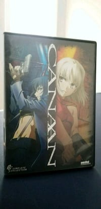 Canaan, The Complete Series on DVD. Anime.