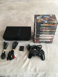 PlayStation console 1 controller 1 memory card 19 games  544 km