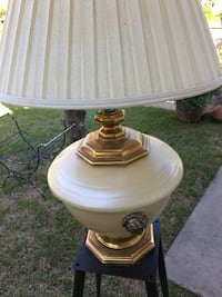 SALE NOW!!Large lion metal table lamp Fort Worth, 76108