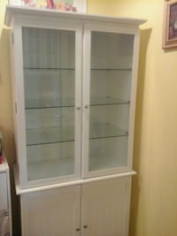 White cabinet for dining room