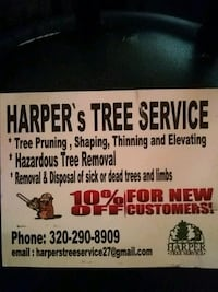 TREE TRIMMING AND REMOVAL St. Cloud, 56303