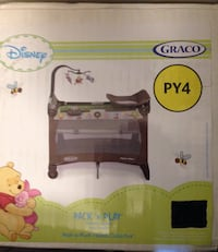 Portable Playard with Classical Music Player Edmonton, T5A 3T6