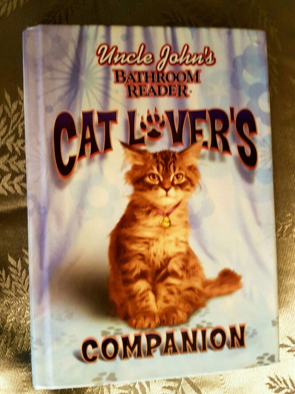 Uncle John's bathroom readers for cat lovers 83f71604-1967-43b0-9c51-a80f3e55dd96