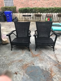 2 Really Nice Wicker Chairs Wilmington, 28409