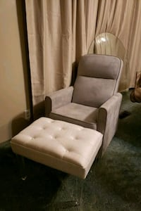 Rocking chair with foot stool Leoma, 38468