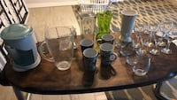 wine glasses, tumblers,coffee cups , vases, ice crusher Youngstown, 32466
