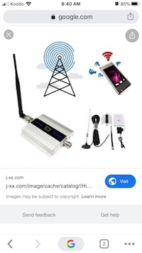 Cell phone signal repeater